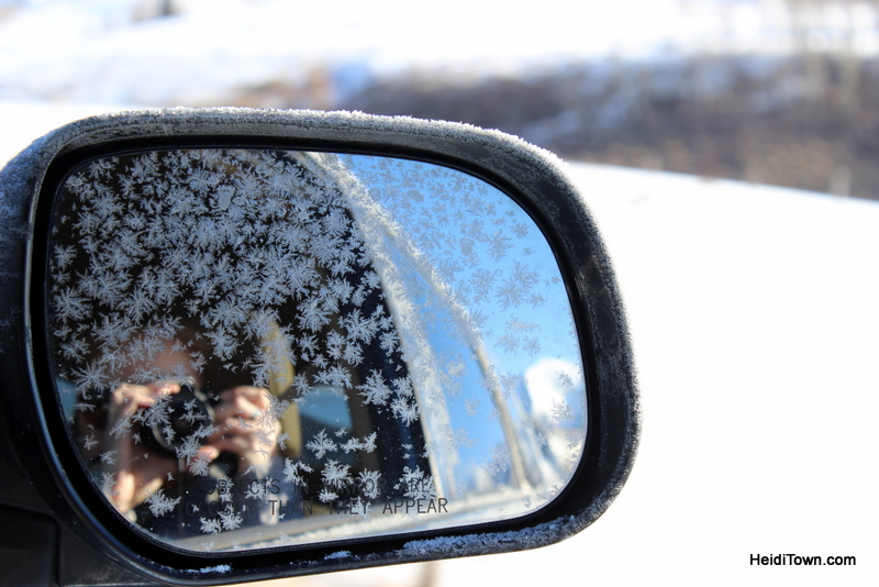 Eat All the Things A Delicious 3-Day Dining Guide to Crested Butte. Ice on the rearview mirror. HeidiTown.com