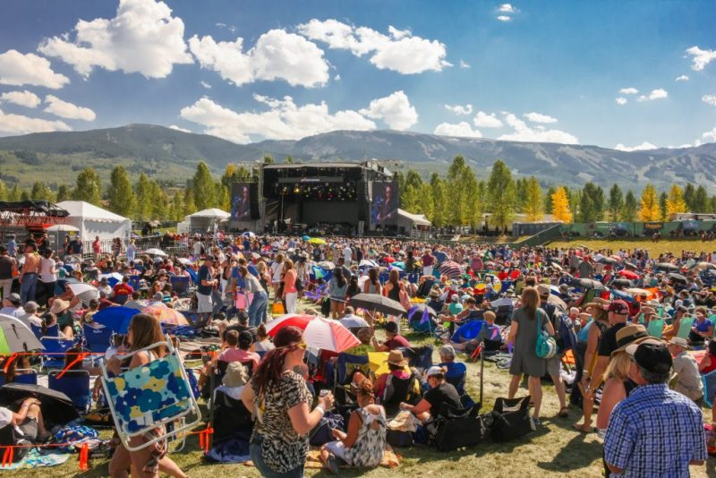 Colorado Mountain Music Festivals Not to Miss This Summer. JAS Labor Day Festival, Sun. Sept. 3, 2017