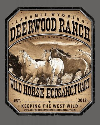 Deerwood Ranch Wild Horse Eco Sanctuary logo