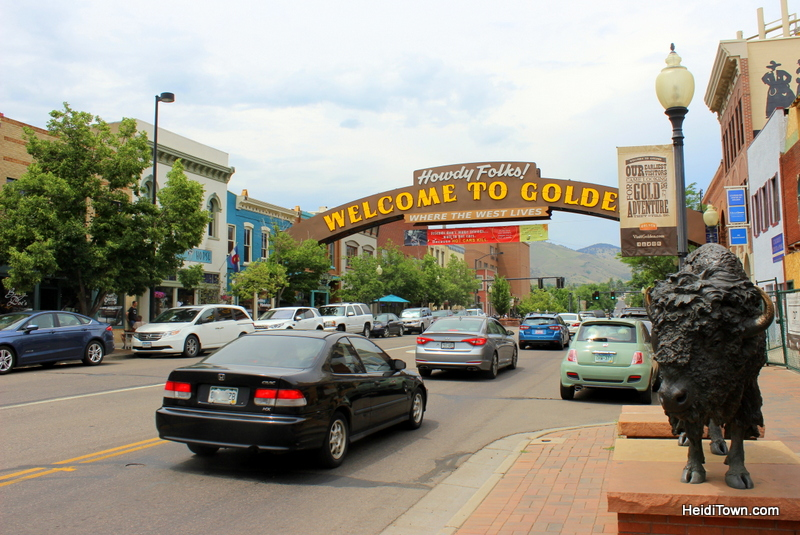 5 Picture Perfect Colorado Summer Towns, downtown Golden. HeidiTown.com