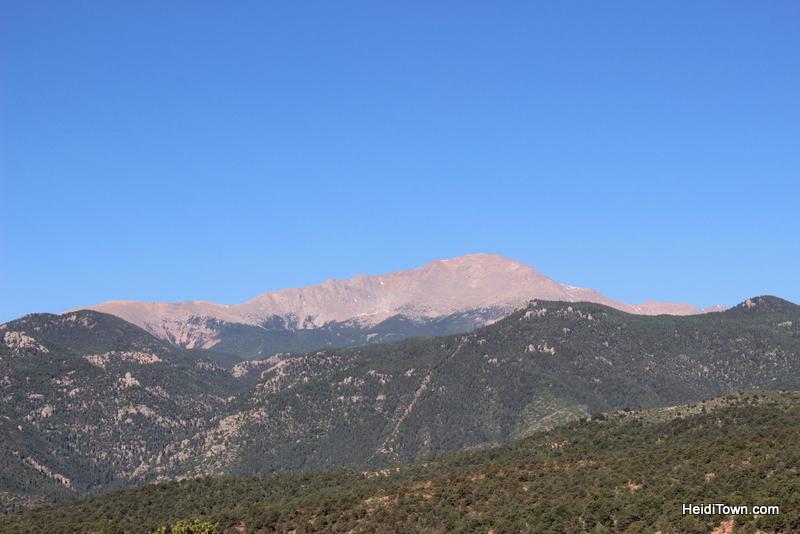 A Visit to Garden of the Gods in Colorado Springs, a bluebird day. HeidiTown.com