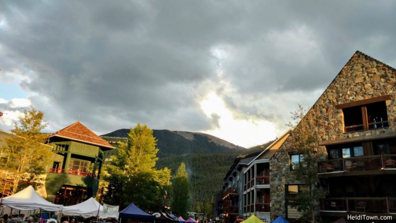 Stay in Keystone, Colorado. River Run Village. HeidiTown.com