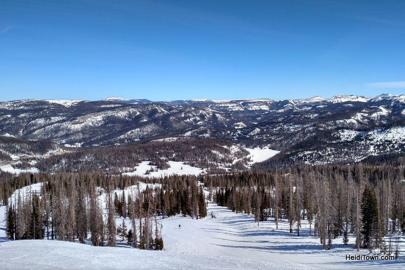 Why Wolf Creek Ski Area Near Pagosa Springs is Worth the Drive. View shot. HeidiTown.com