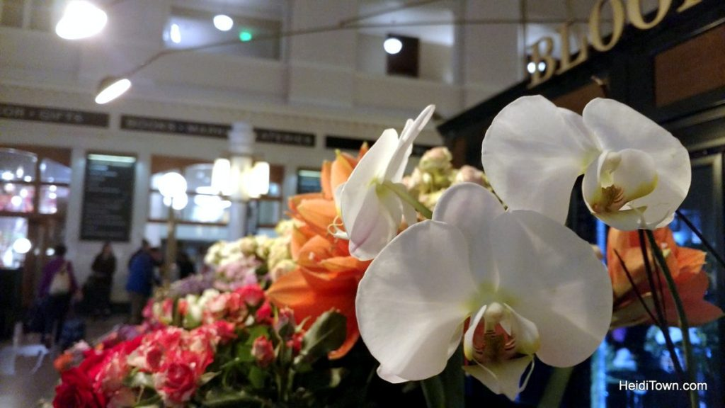Sleep & Dine at Denver's Union Station, HeidiTown.com, Bloom