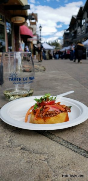 Tasty Bites from Taste of Vail 2019 & My Thoughts on Greek Wine (2)