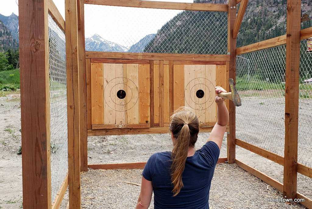 Connecting with My Ancestors Throwing Axes in Ouray, Colorado. HeidiTown (1)