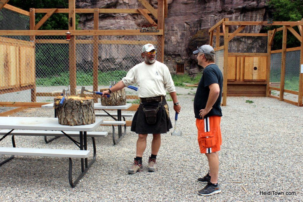 Connecting with My Ancestors Throwing Axes in Ouray, Colorado. HeidiTown (6)