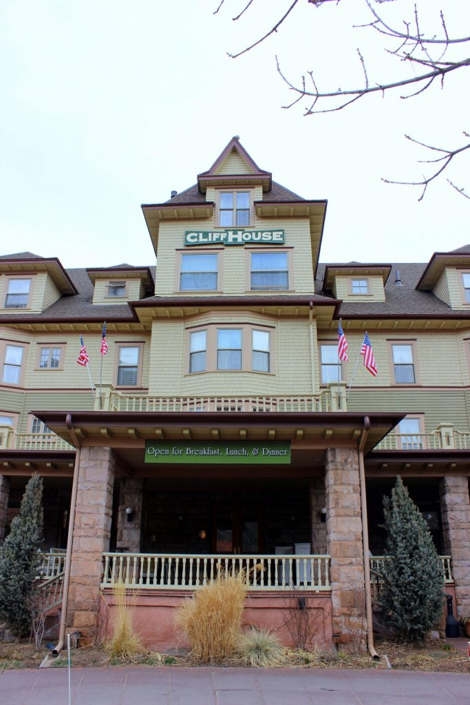 The Cliff House in Manitou Springs, photo by Heidi Kerr-Schlaefer, HeidiTown.com
