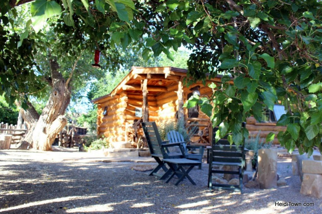 Canyon of the Ancients Guest Ranch, Cowboy Cabin by Heidi Kerr-Schlaefer.