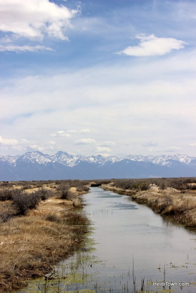 R is for Road Trip. San Luis Valley, Sangre Cristo Range. HeidiTown.com