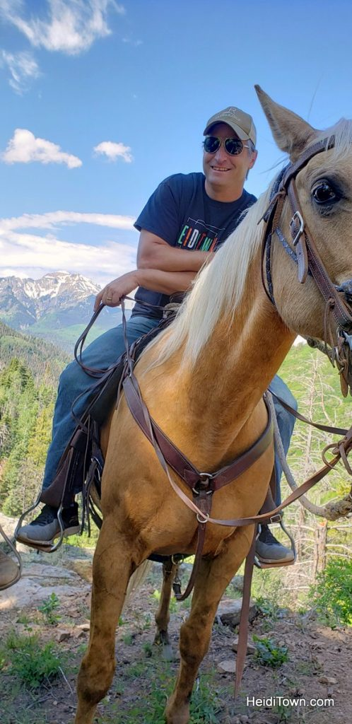 Trail Ride to the Top of the World with Action Adventures in Ouray. HeidiTown (10)
