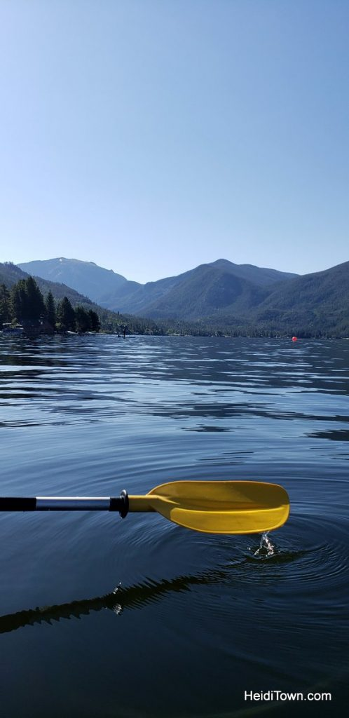 Get in a Kayak on the Lake in Grand Lake, Colorado. HeidiTown (6)