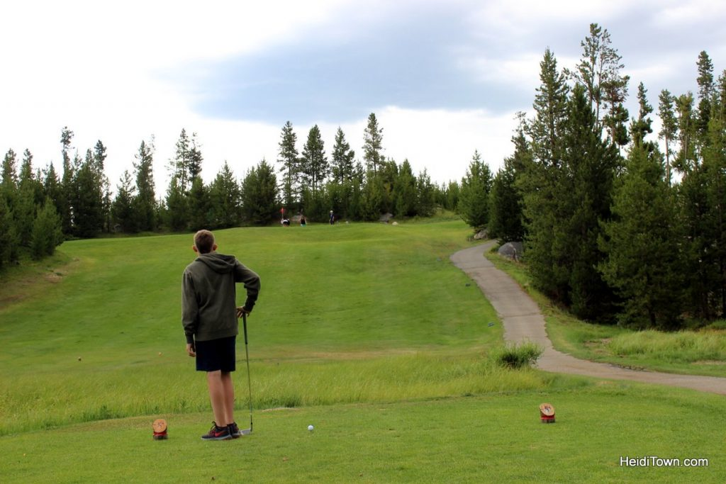 While Not at the Lake in Grand Lake, Colorado Golf. HeidiTown (14)