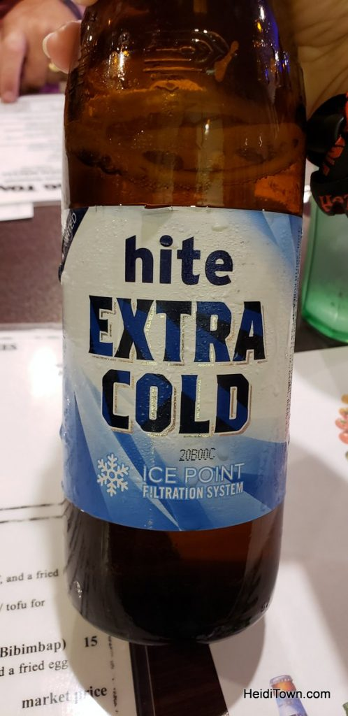 Hite Beer at Tong Tong in Colorado Springs. HeidiTown.com