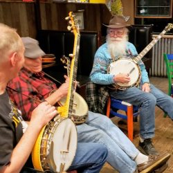 The Mayor's Travel Memories from the Road (Bluegrass Pick in Lyons, CO)