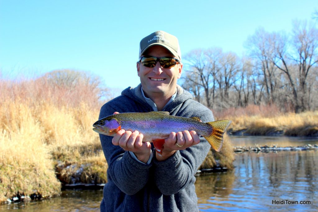 Ryan's Travel Memories from the Road (Fishing in Saratoga, Wyoming). HeidiTown.com